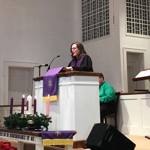 Pastor Jennifer Rygg