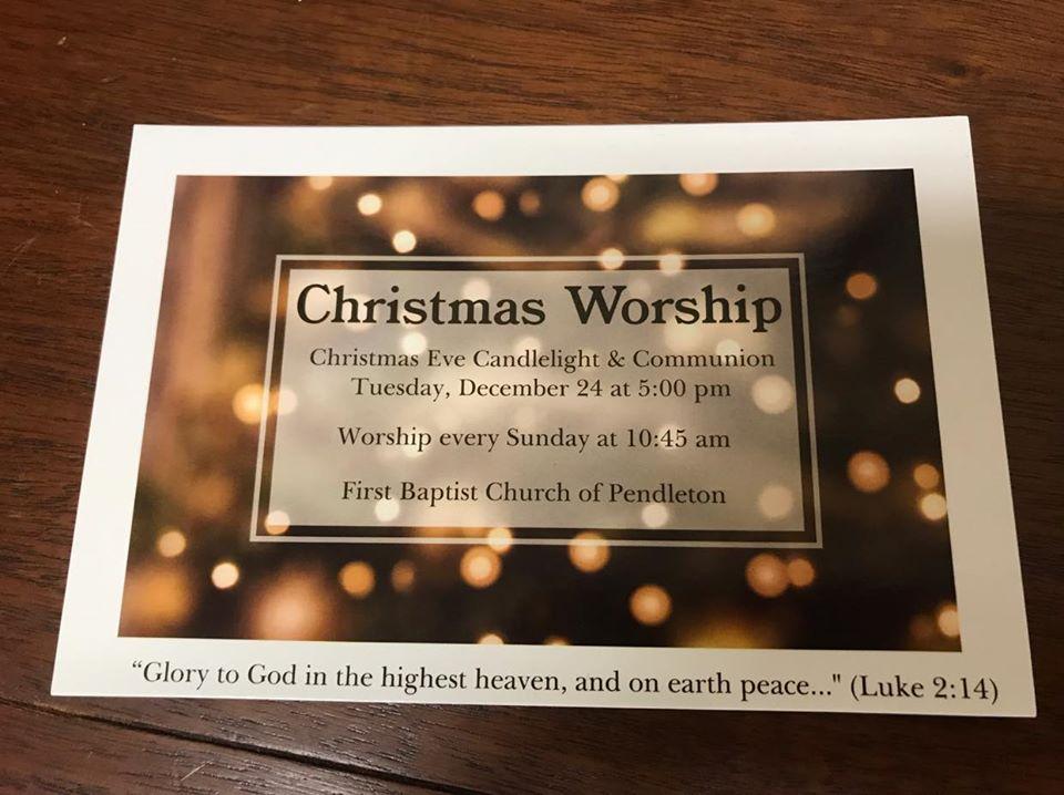 Christmas Eve Worship 5 pm