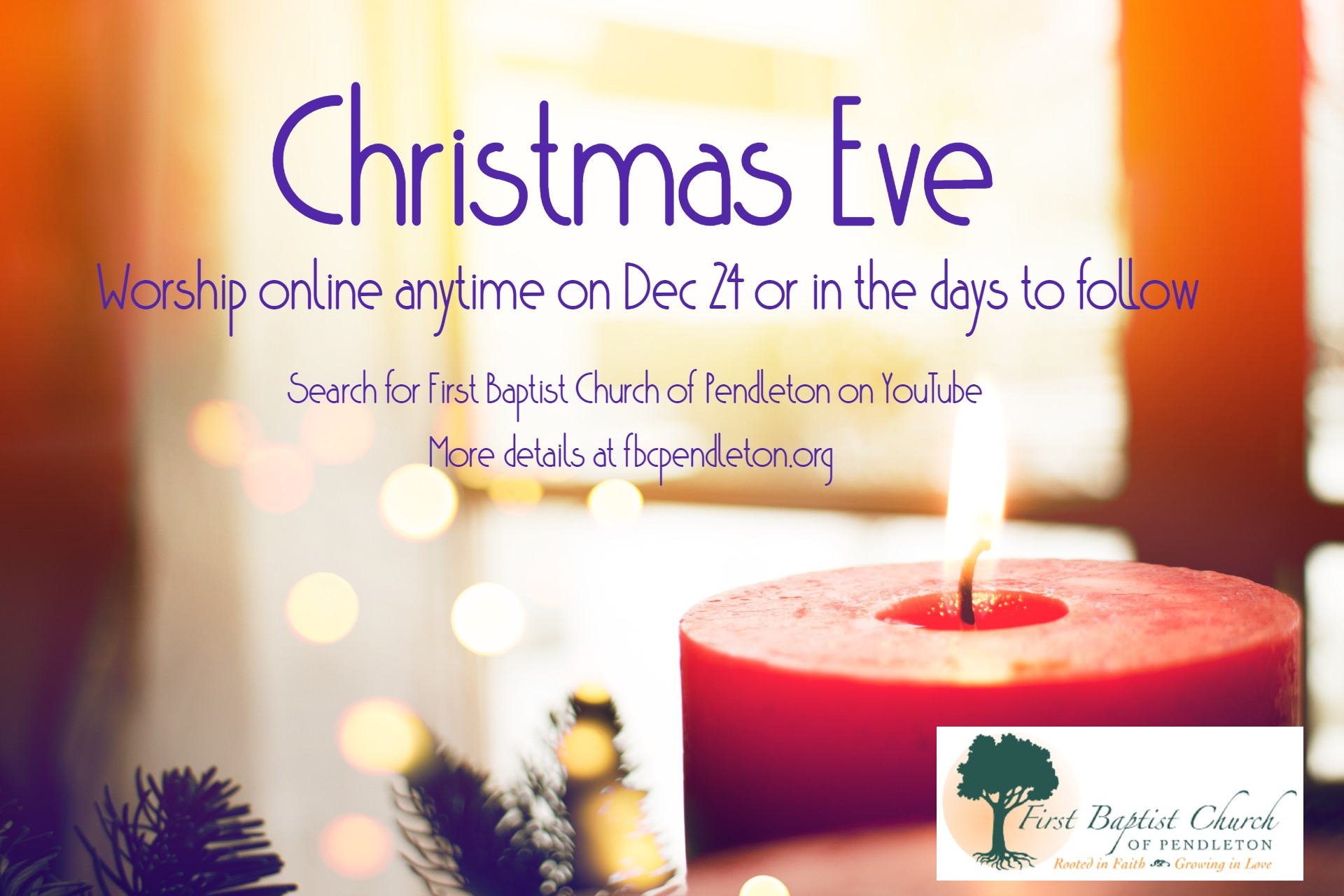 Christmas Eve service online