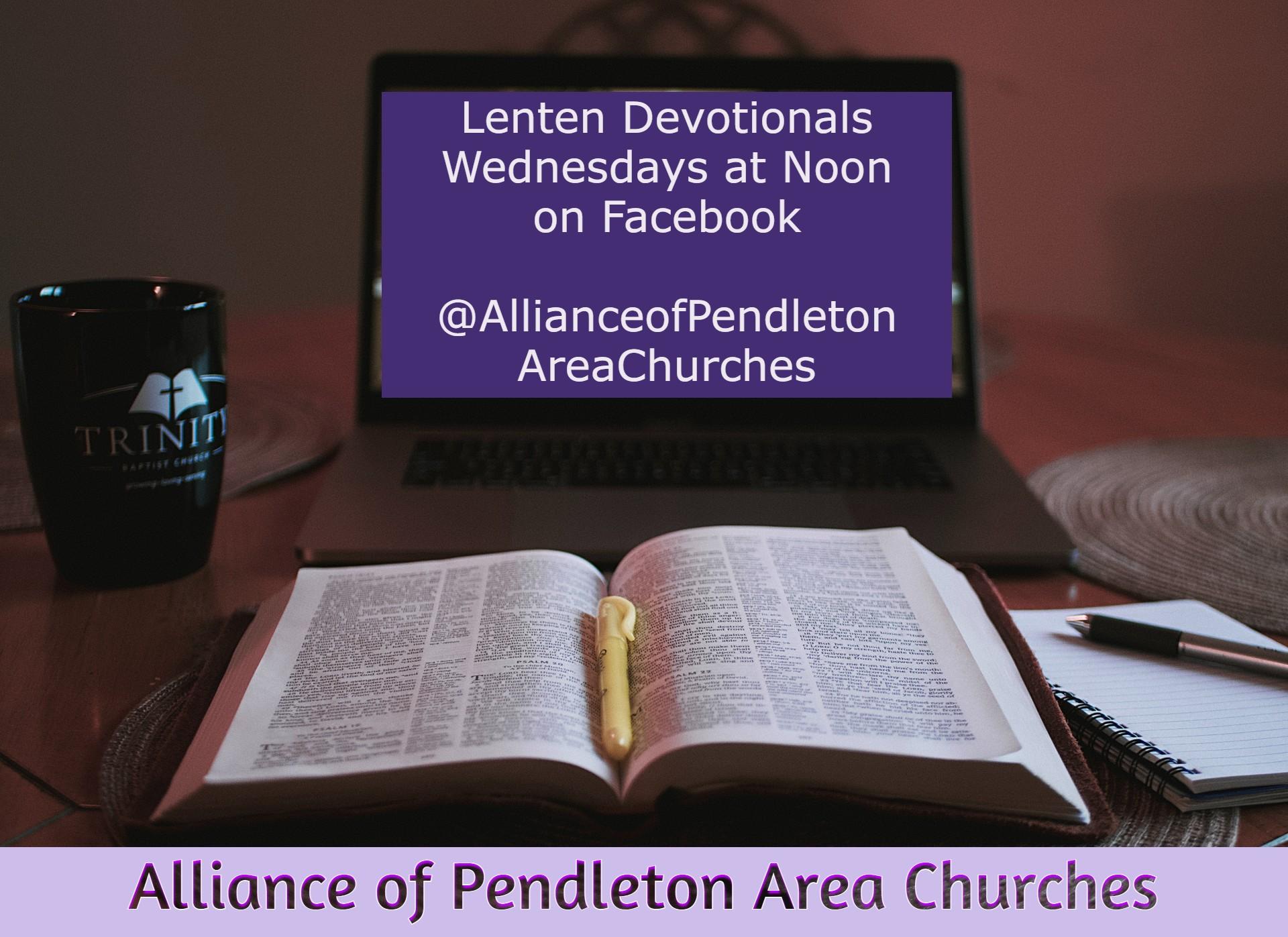 APAC Lenten Devotionals on Facebook