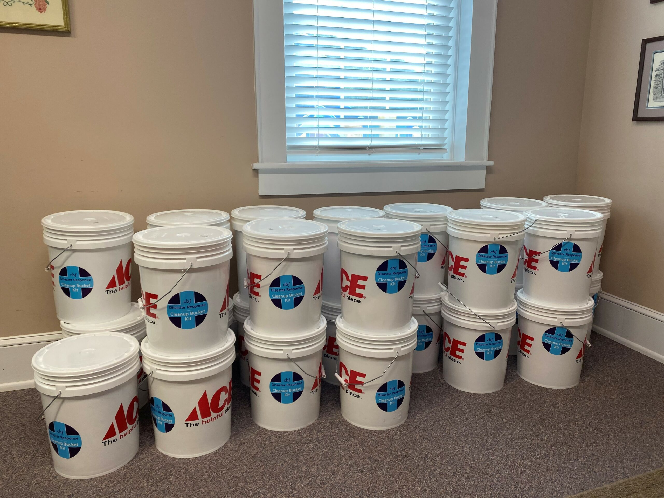 flood relief buckets